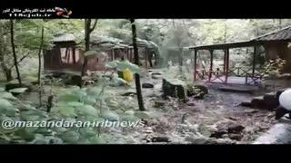 مجموعه گردشگری توریستی پویان در سوادکوه