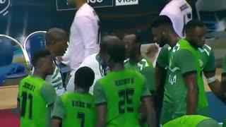 دیدار  تیم های ملی هندبال نیجریه و کره درقهرمانی جوانان جهان2019