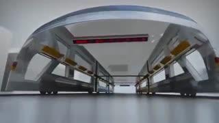 نمونه ای از حمل و نقل آینده-به آینده خوش آمدید!!!