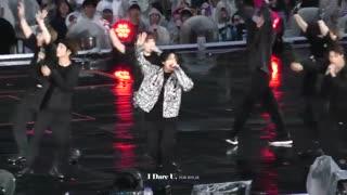 کنسرت BTS در SHIZUOKA فوکوس روی جونگ کوک اجرای آهنگ MIC DROP / بی تی اس