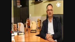 رونق تولید(مصاحبه جناب مهندس اسدسنگابی مدیرعامل مجموعه کارخانجات گروه تولیدی پردیس-نانوسیز)