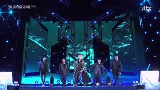 اجرای آهنگ SINGULARITY توسط وی V BTS در تور کنسرت LOVE YOURSELF / بی تی اس