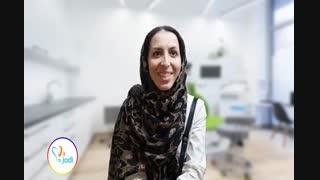 کاشت ایمپلنت دندان - فیلم رضایتمندی بیمار سرکار خانم قاسمی