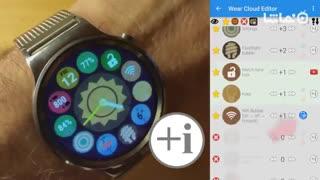 Bubble Cloud Wear Launcher Watchface (Wear OS)