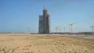 ساخت برج جده-عربستان