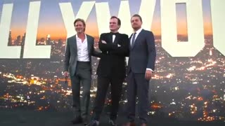 Once Upon a Time in Hollywood LA Premiere B-Roll    #SocialNews.XYZ