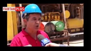 کار طاقت فرسا در گرمای ۶۶ درجه خوزستان!