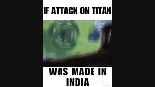 اگر حمله به تایتان در هند ساخته میشد