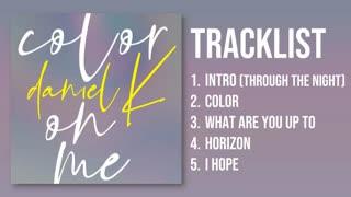 Kang daniel-color on me-full album