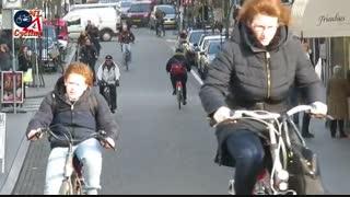 فرهنگ دوچرخه سواری در هلند