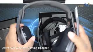 ویدئوی آنباکس و تنظیم هدست Astro مدل A20