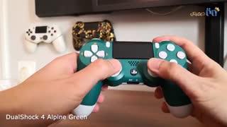 ویدئوی آنباکس دسته بازی پلی استیشن ۴ مدل Alpine Green