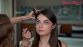 میکاپ آیشا ایچین توران(مریم در سریال مریم) توسط بهترین میکاپ ارتیست ترکیه