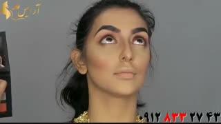 فیلم آموزش کامل آرایش دخترانه به سبک هندی