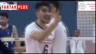 لحظه قهرمانی تاریخی تیم ملی والیبال که رسانه ملی پخش نکرد