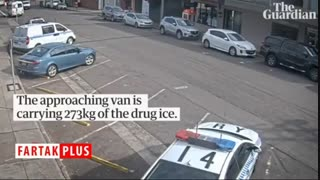 بدشانسی عجیب قاچاقچی حین حمل ۲۷۳ کیلوگرم مواد مخدر!