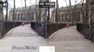 مقایسه دوربین آیفون XS با سامسونگ S10 plus
