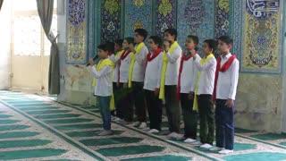 اجرای سرود آکاپلا به مناسبت چهلمین سالگرد نماز جمعه