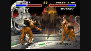 گیم پلی کامل بازی نهایی مورتال کمبت Ultimate Mortal Kombat 3 برای کامپیوتر نسخه بازکننده غول ها