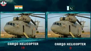 مقایسه قدرت ارتش هند در مقابل پاکستان(2019)