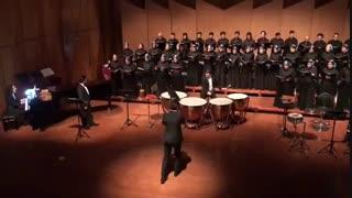 کنسرت گروه کر آموزشگاه سرنا در سالن رودکی تهران
