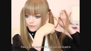 Kotakoti Simple Hairstyle - Rose Twintails مدل موی ساده و زیبا داکوتارز