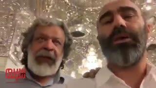اعتراض تند محسن تنابنده به ممنوع التصویر شدن مهناز افشار در مشهد
