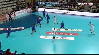 دیدار  تیم های ملی هندبال فرانسه و کرواسی در فینال قهرمانی جوانان جهان2019