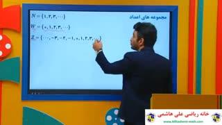 آمادگی آزمون تیزهوشان ریاضی نهم با علی هاشمی