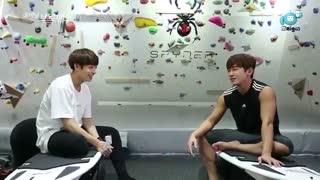 قسمت سوم از فصل هشتم برنامه Celebrity bromance با حضور جونگ کوک bts و مین وو shinhwa (زیرنویس فارسی) +درخواستی