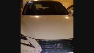 Lexus is250 نصب ضربه گیر برسام  بر روی خودرو لکسوس is250