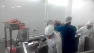 کباب زن، کباب گیر، کباب میکر، کوبیده زن صنعتی، kebab skewer و کباب ساز اطلس ماشین با سیستم آب گرم و قالب استیل