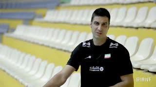 با سعید رضایی در پنجمین سالگرد درگذشت حسین معدنی، مرد ابدی والیبال ایران