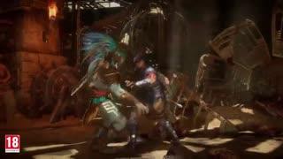 گیمپلی Nightwolf در بازی Mortal Kombat 11