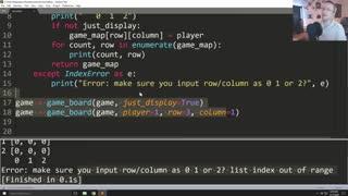 Error Handling - Python 3 Programming Tutorial p.9