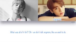 Jimin . Jung kook _ We dont talk anymore