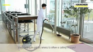 فروش جاروبرقی صنعتی کارچر | نظافت صنعتی محیط های بهداشتی و درمانی