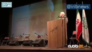 سخنرانی ظریف در مراسم حمایت از سیلزدگان لرستان