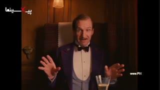 فیلم هتل بزرگ بوداپست ، اولین درگیری آقای گوستاو در قطار برای دفاع از زیرو