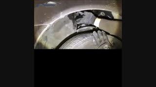 آموزش نصب ضربه گیر برسام  بر روی خودرو