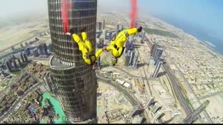 پرش از برج خلیفه