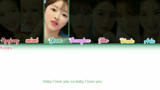 متن آهنگ TROPICAL LOVE از oh my girl