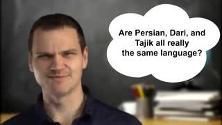 صبحت کردن به زبان فارسی چقدر سخته براشون