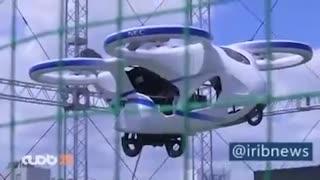 پرواز آزمایشی خودرو پرنده مصول مشترک NEC غول صنایع الکترونیک ژاپن و یک استارتاپ در توکیو