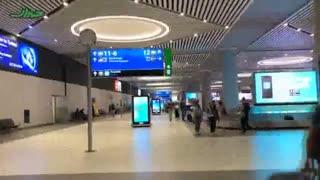 فرودگاه جدید استانبول از هواپیما تا خروجی