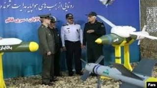 رونمایی از موشکهای جدید نقطه زن