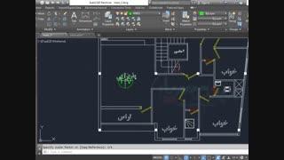 آموزش نقشه کشی تاسیسات برق ساختمان