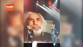 همخوانی نیما مسیحا و حامی در اولین شب کنسرت مشترکشان