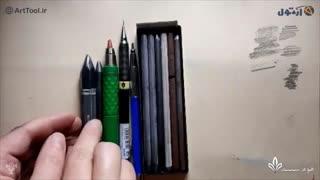 معرفی و نحوه استفاده  ابزار طراحی  - معرفی بهترین مداد طراحی در ایران بخش دوم