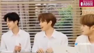 AB6IX 전웅 Jeon Woong Laugh Compilation